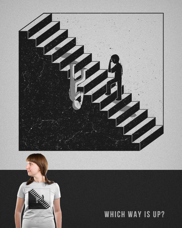 which way is up? by boostr29 on Threadless