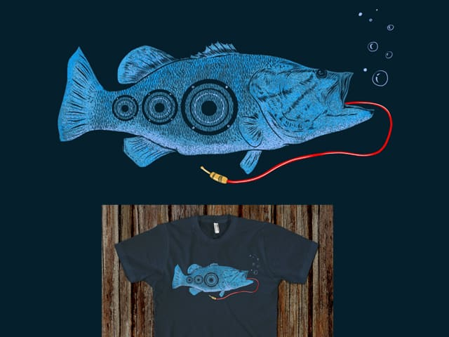 Sea Bass by kooky love on Threadless