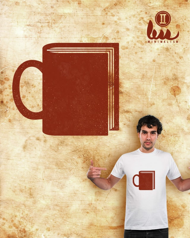 BOOKS+COFFEE by amiosa on Threadless