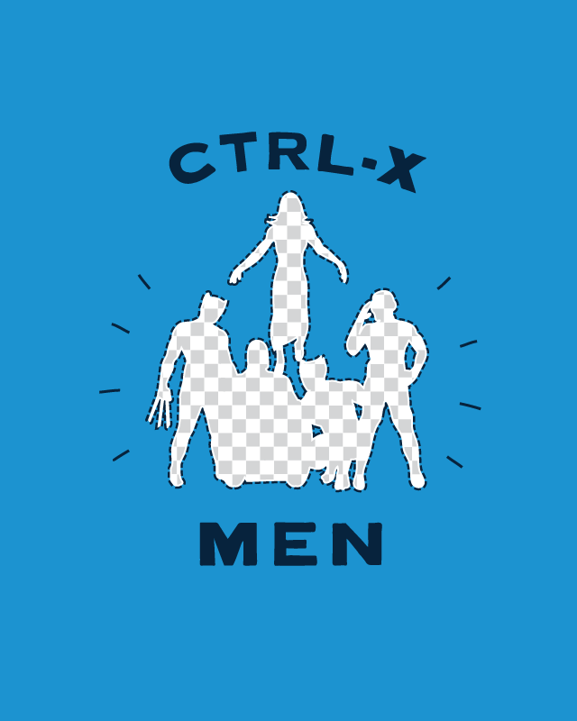 CTRL-X MEN by nathanwpyle at gmail.com on Threadless