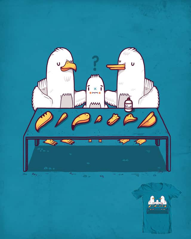 Time to choose your beak by randyotter3000 on Threadless