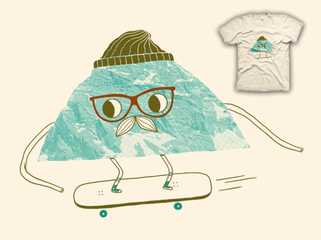 Mountain Boarding by zackOlantern on Threadless
