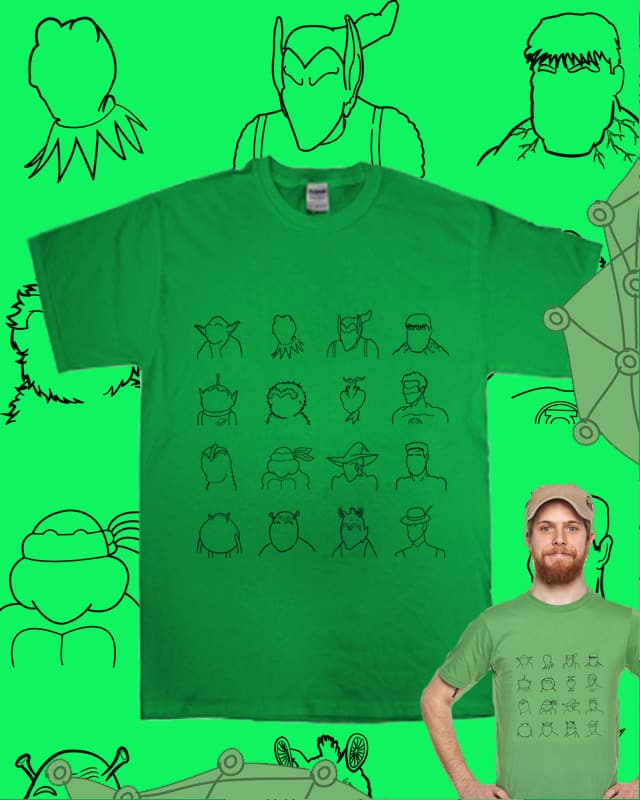 16 Degrees of Separation by sombers_eye on Threadless