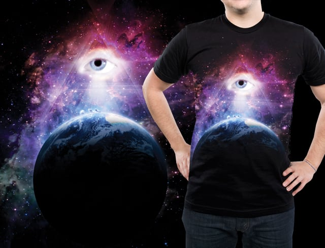 Space Eye by jstaheli on Threadless