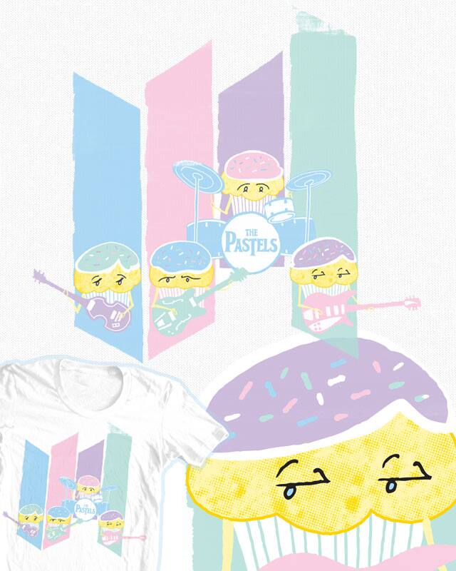 Meet the Pastels! by JohnD-C on Threadless