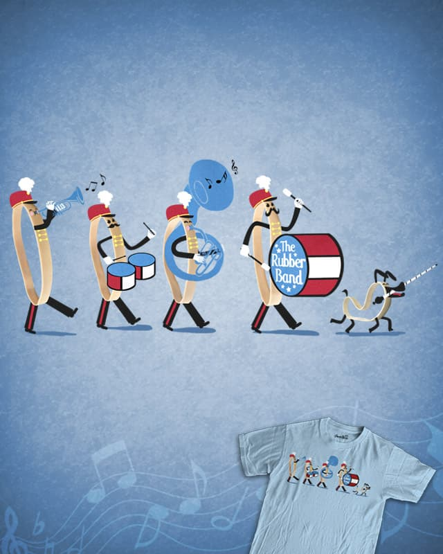 The Rubber Band by TOSOMB on Threadless