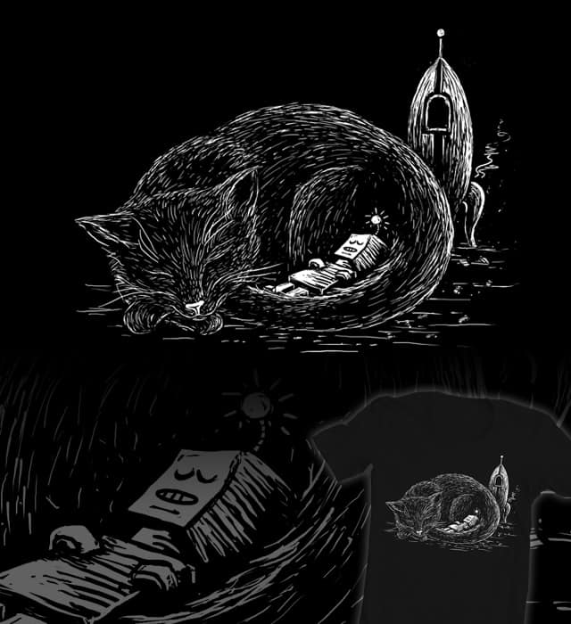 It was a long trip, my friend by littleclyde on Threadless