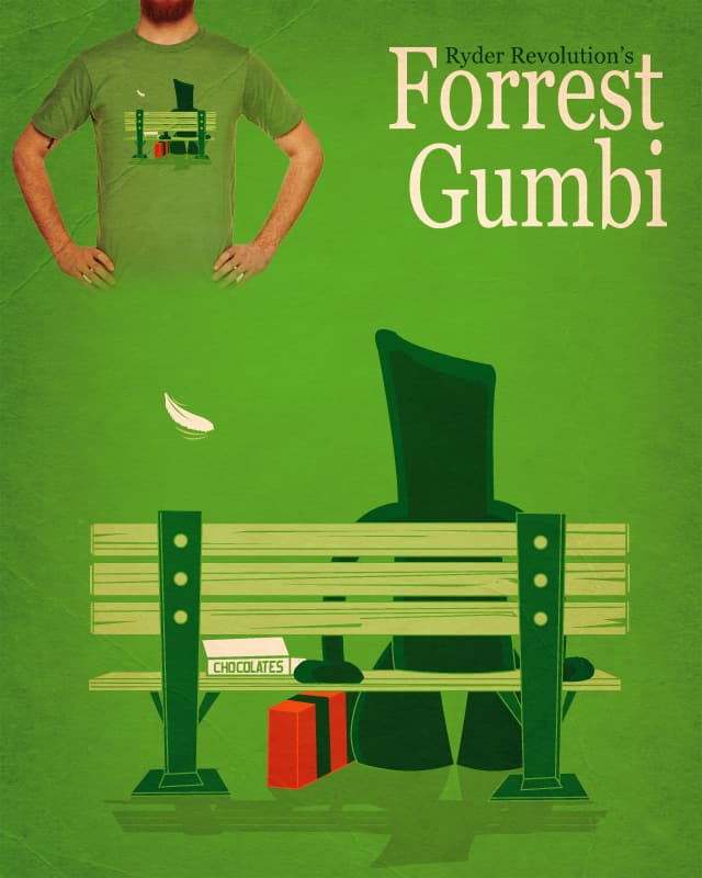 Forrest Gumbi by Ryder on Threadless