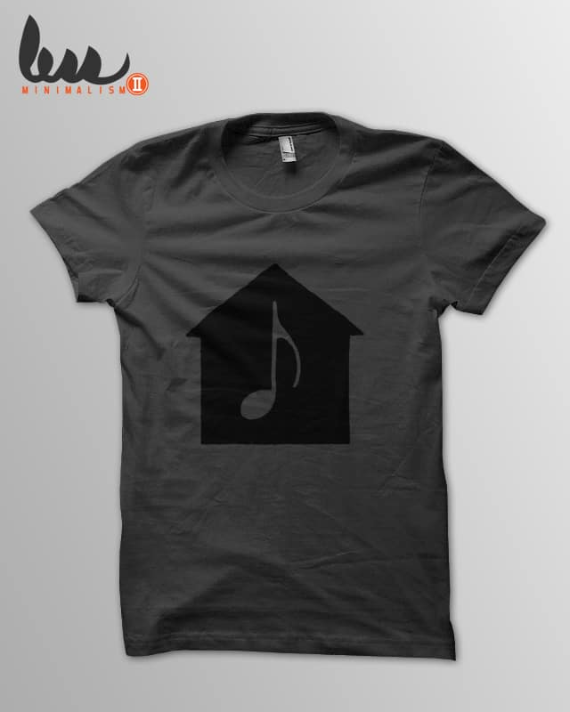 House Music by speakerine on Threadless