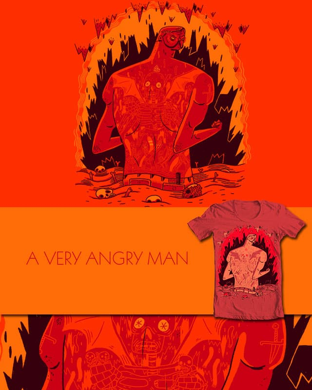 A Very Angry Man by BurritoGoblin on Threadless