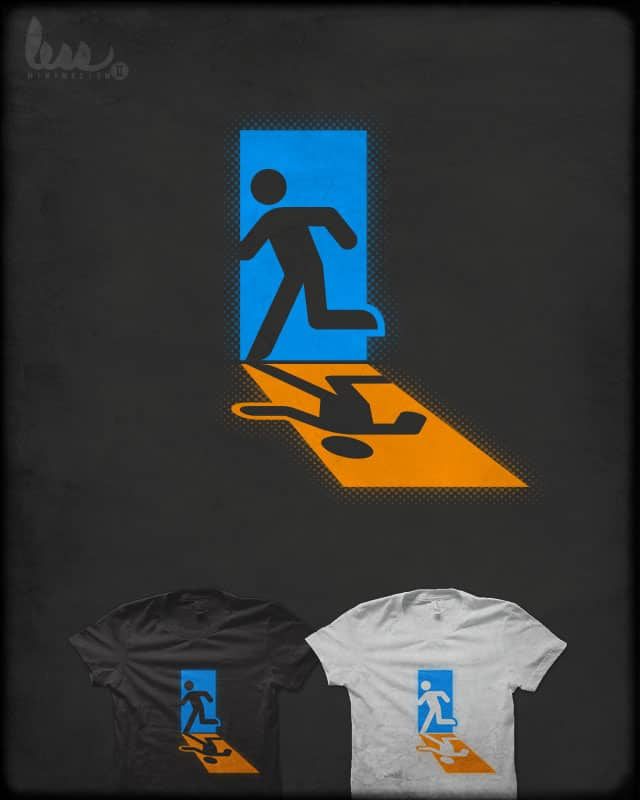 Emergency Exit/Entrance by quick-brown-fox on Threadless