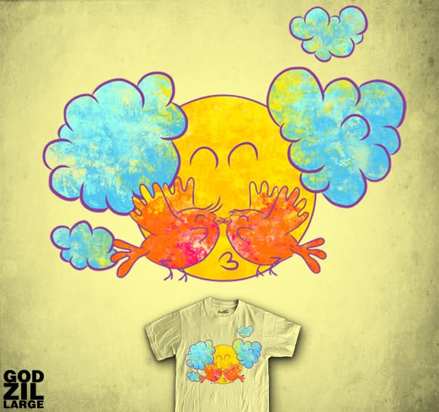 Too Much Love in Summer by GODZILLARGE on Threadless