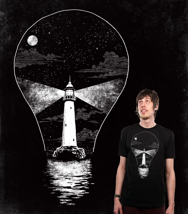 Light (bulb) House by blue sparrow on Threadless