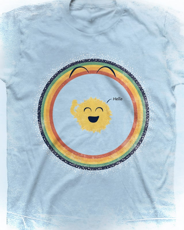 Solar Hello by Wilfur on Threadless