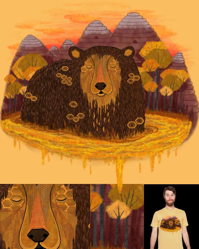 Honey Hibernation by nicholelillian on Threadless