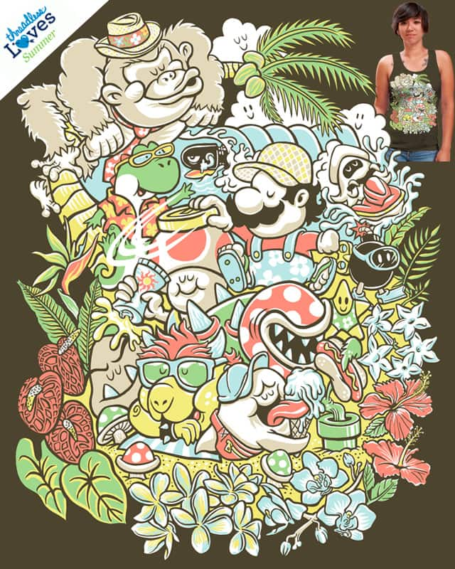 Super Maui-O! by herky on Threadless