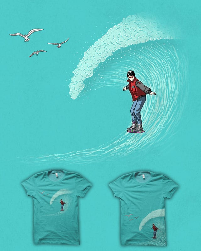 Surf to the Future by speakerine on Threadless