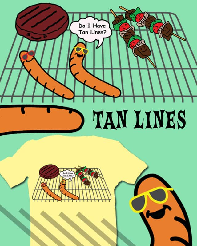 Tan Lines by negativesleep on Threadless