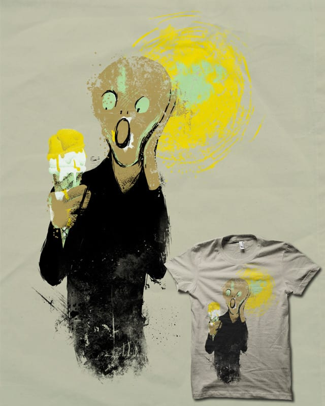 I Scream for Ice Cream by biotwist on Threadless