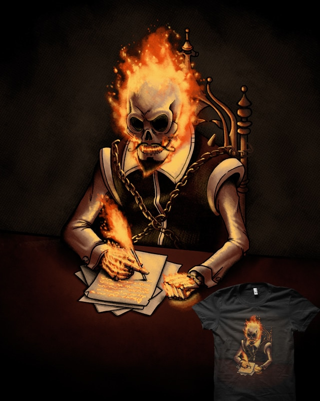 Ghost writer by Naolito on Threadless