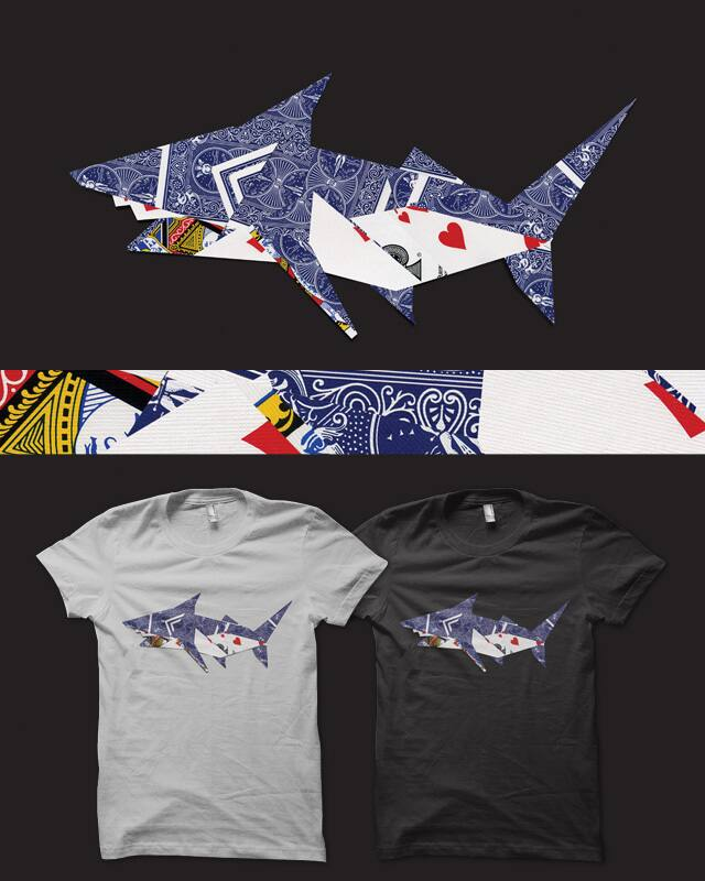Card Shark by deep space monkey on Threadless