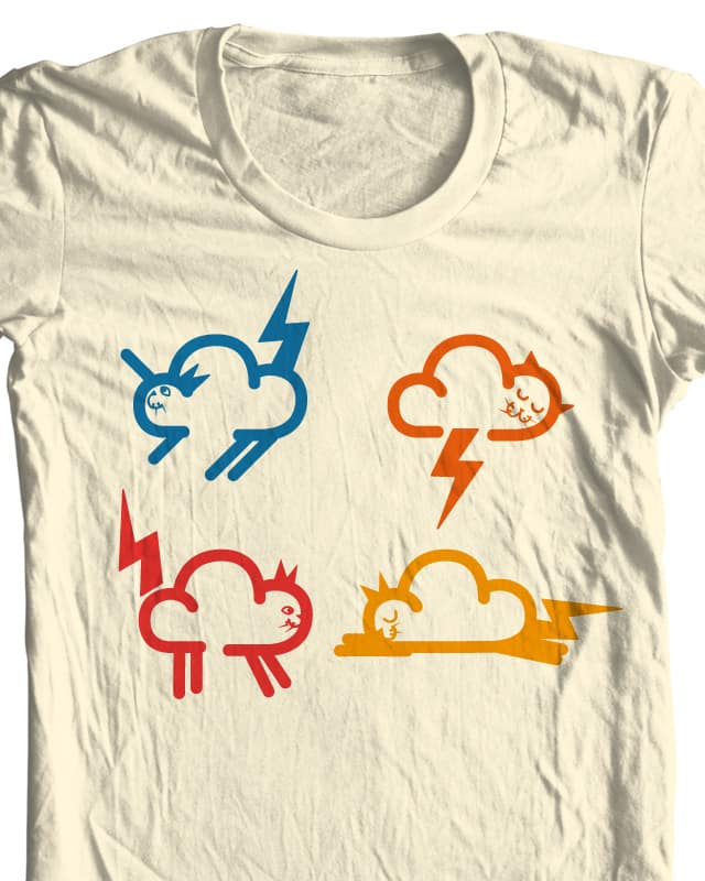 Cats of Thunder by Raid71 on Threadless