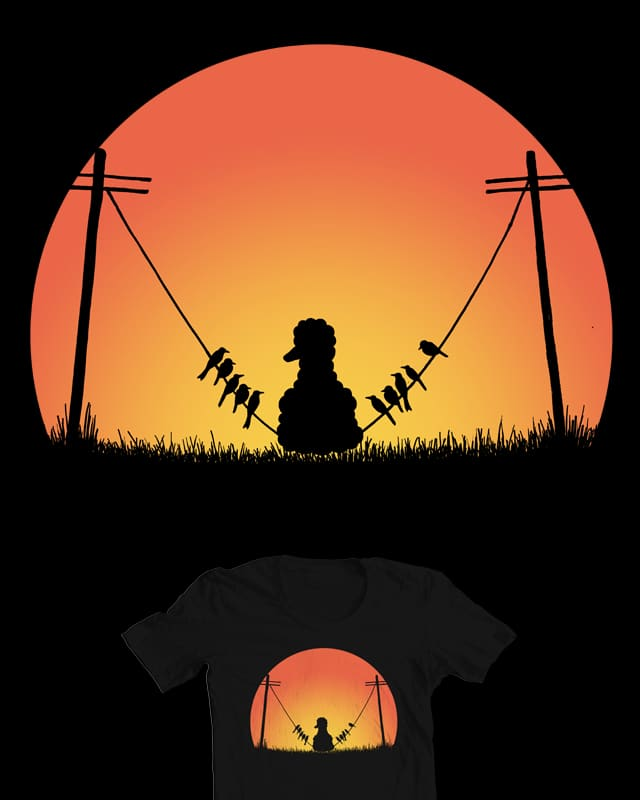 Just tryin to fit in by CazKing on Threadless