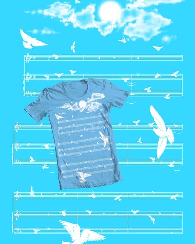 sing the freedom by rejagalu on Threadless