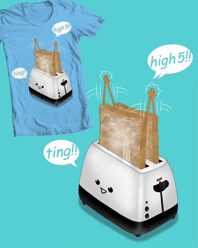 toast-er! by rejagalu on Threadless