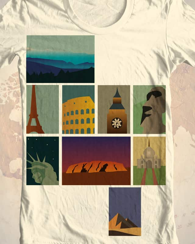 The Art of Travel by lindsey.design on Threadless