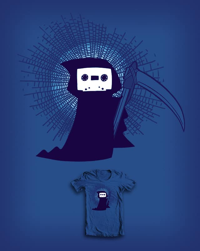 The ghost of the mixtapes yet to come by ivanrodero on Threadless