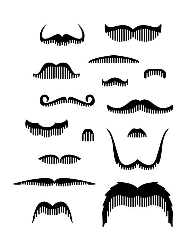 Moustache Comb by AndreasWikstrom on Threadless