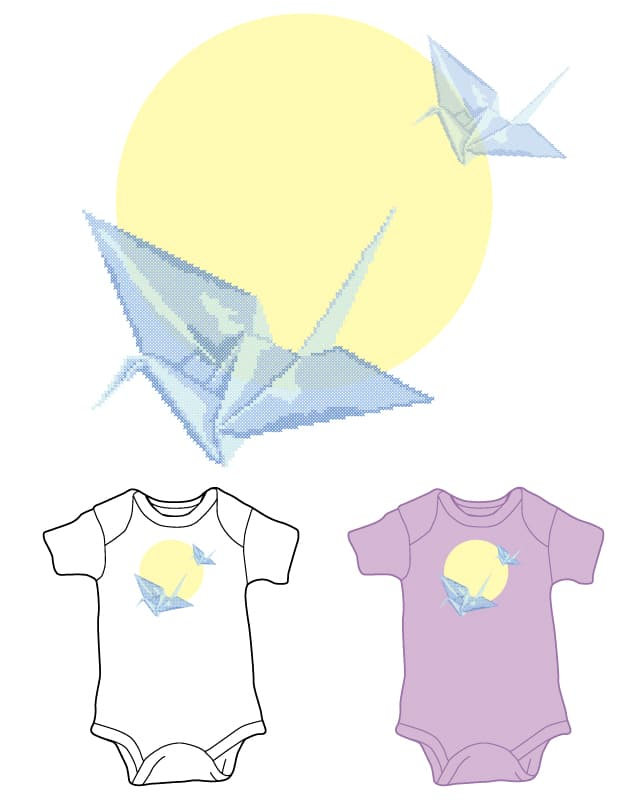 Peacefull flying by camilaplate on Threadless