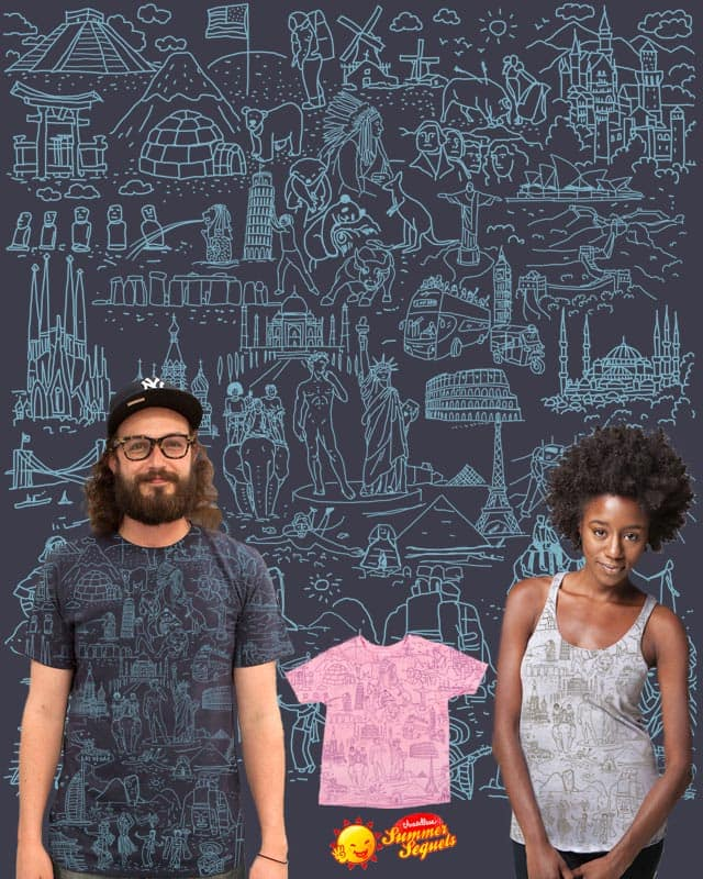 My Destinations by YaaH on Threadless