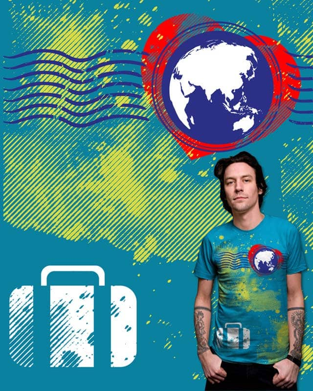 Travel With Love (Everywhere I Go) by robbyiodized on Threadless
