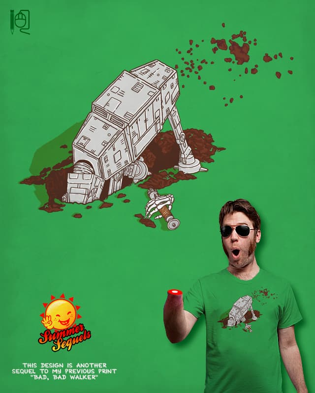 In a backyard far, far away... by rodrigobhz on Threadless