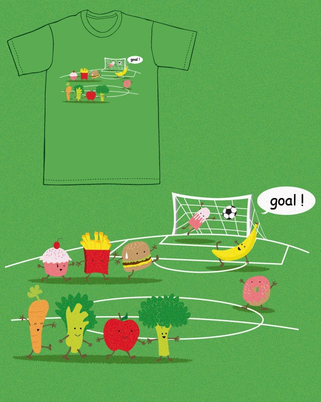 Foodball by fpriscillya on Threadless
