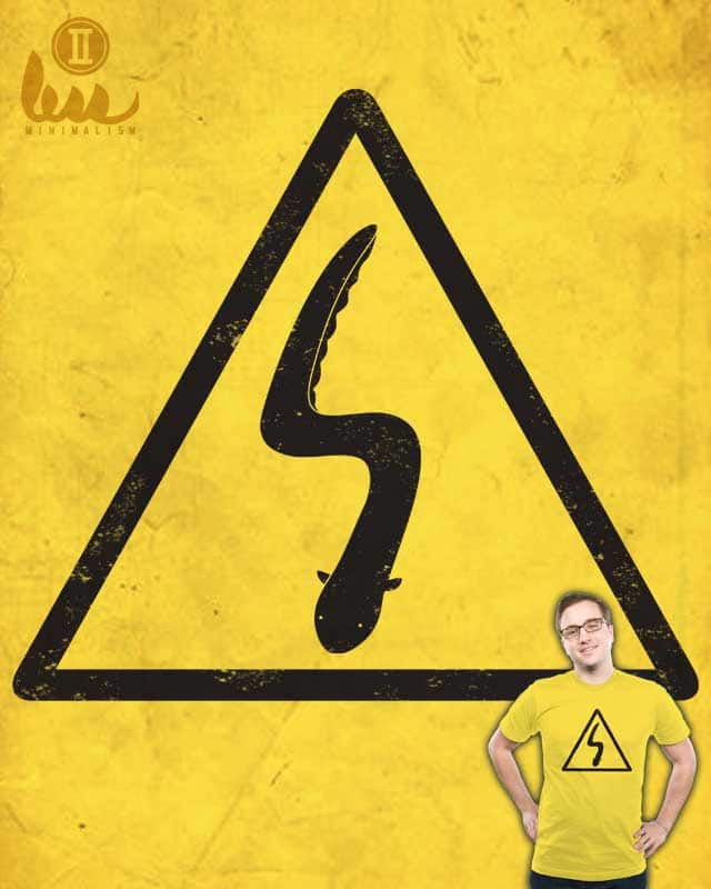 Caution: HIGH VOLTAGE by eQuivalent on Threadless