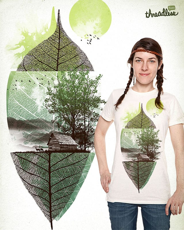 'live in nature' by dzeri29 on Threadless
