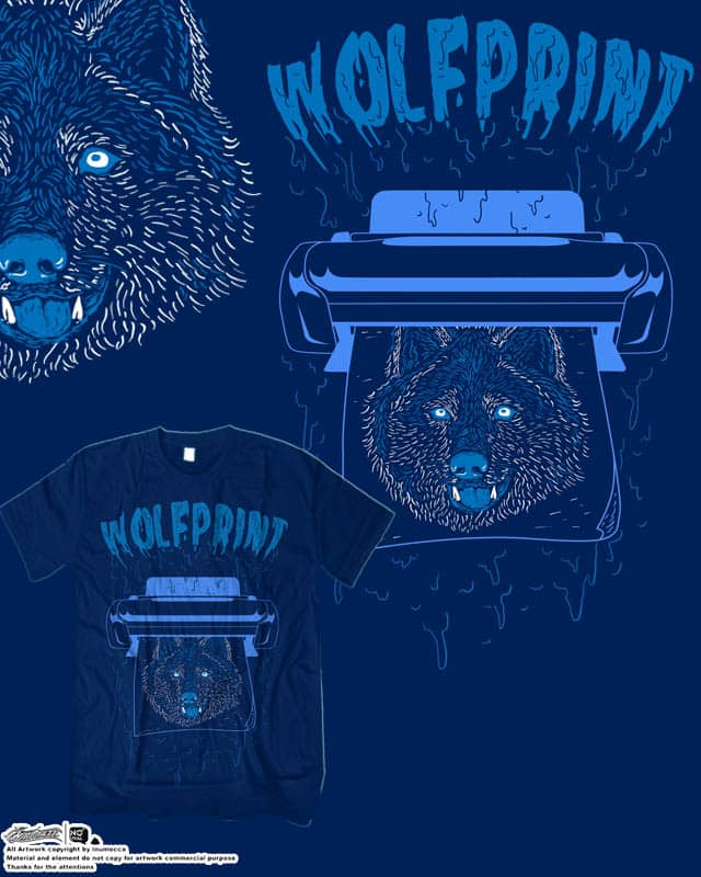 WolfPrint by inumocca on Threadless