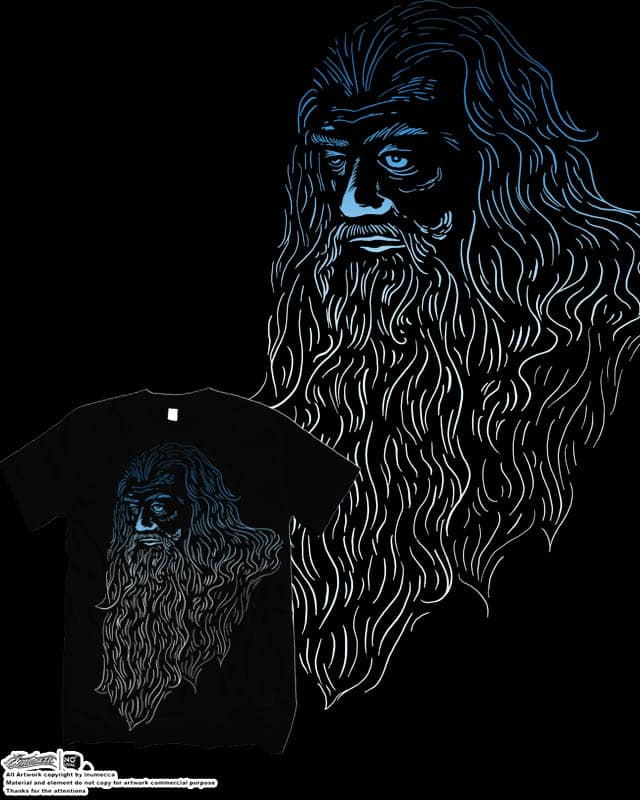 old man by inumocca on Threadless