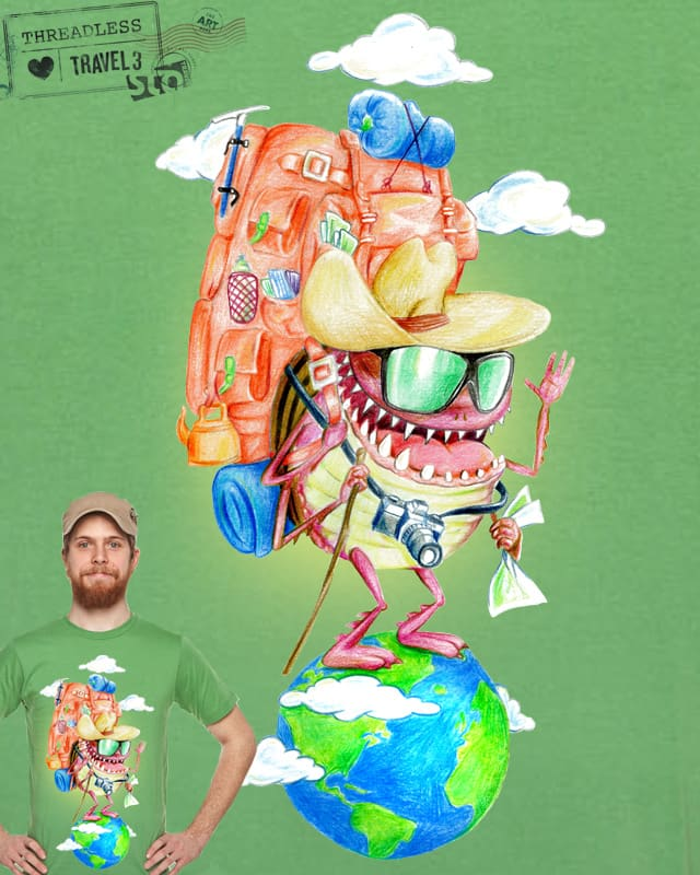 Travel Bug by CURLYCREATIVE on Threadless