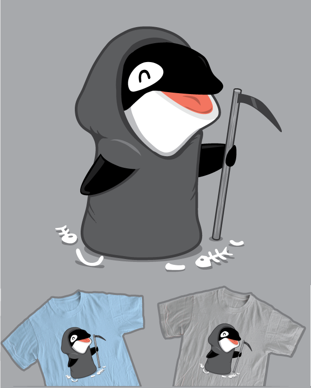 The Swim Reaper by nathanwpyle at gmail.com on Threadless