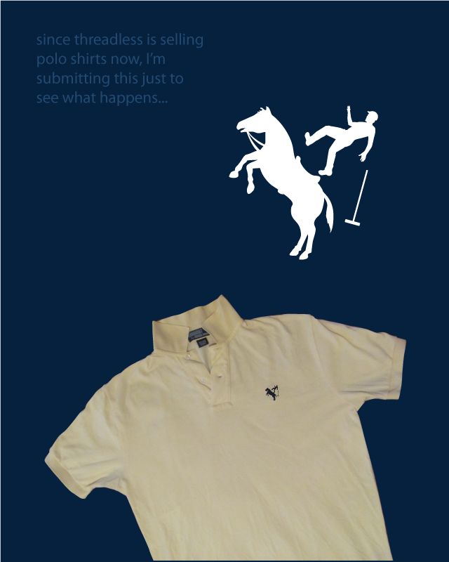 threadless polo experiment by nathanwpyle at gmail.com on Threadless