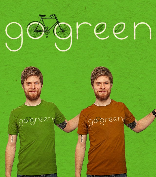 Go Green by speakerine on Threadless