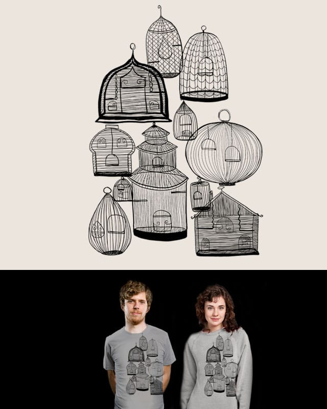 If you leave the cage door open.... by nicholelillian on Threadless