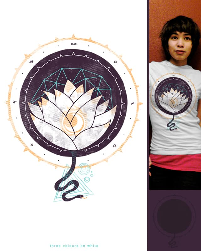 Lotus by againstbound on Threadless