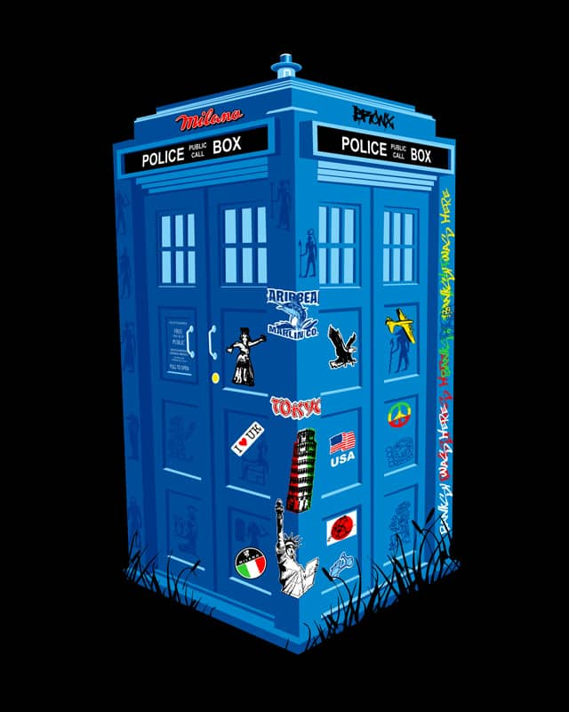 Time Travel by kooky love on Threadless