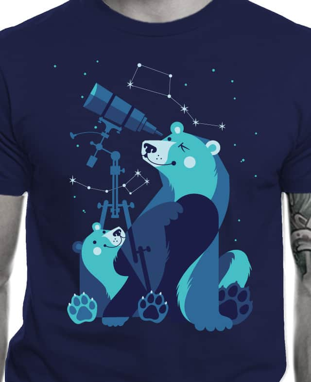 Ursa Minor & Ursa Major by gumbolimbo on Threadless