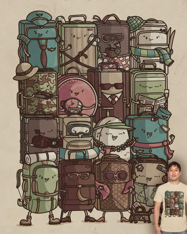 The Travelers by Recycledwax on Threadless
